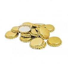 Кроненпробки 6 мм, золото, 100 шт