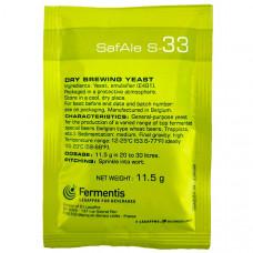 Дрожжи пивные SAFALE S-33