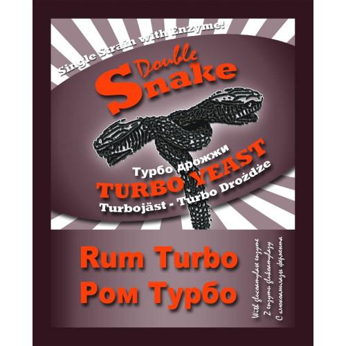 Турбо дрожжи Double Snake Turbo Rum