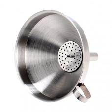 Воронка металлическая с фильтром, 11 см