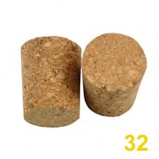 Пробка корковая, конусная 32