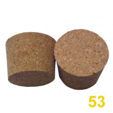 Пробка корковая, конусная 53