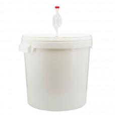 Емкость для брожения с гидрозатвором